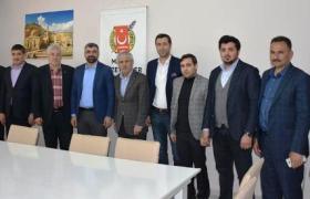 AK Parti İl Başkanı Kılıç'tan  Gazeteciler Federasyonuna ziyaret