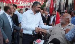 Başkan Kılıç'tan, Mardin Halkına Teşekkür