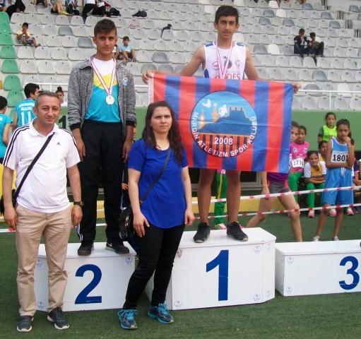 Mardin Atletizm  Spor Kulübünden büyük başarı