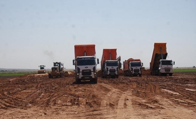 Mardin'de depolama çalışmaları devam ediyor