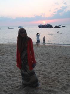 tioman me sunset