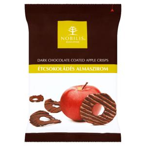 Étcsokoládés almaszirom 40g