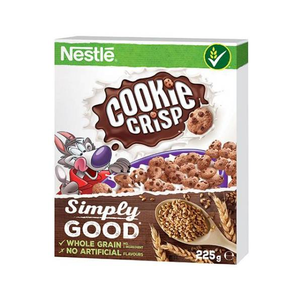 Cookie Crisp ropogós, csokis gabonapehely 225 g