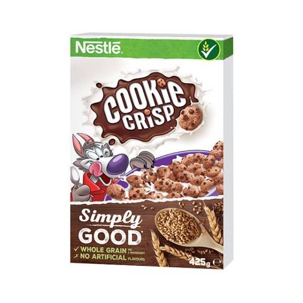 Cookie Crisp ropogós, csokis gabonapehely 425g