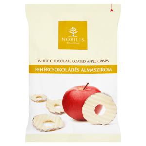 Fehércsokoládés almaszirom 50g