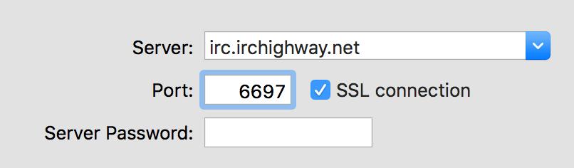 irchighway settings