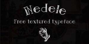 Nedele-font-free-download