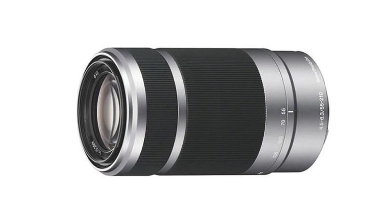 Sony E   55-210mm F4.5-6.3 OSS, Silver