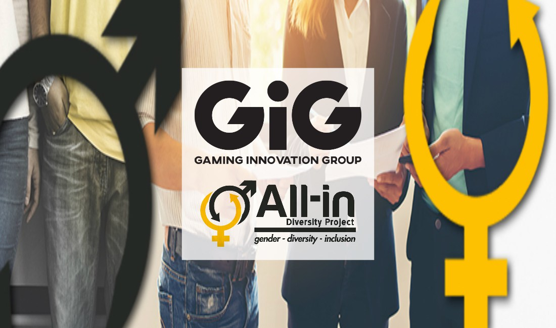 GIG UNDERLINES COMMITMENT TO IMPROVING DIVERSITY IN THE GAMBLING SECTOR BY BECOMING A FOUNDING MEMBER OF ALL-IN DIVERSITY