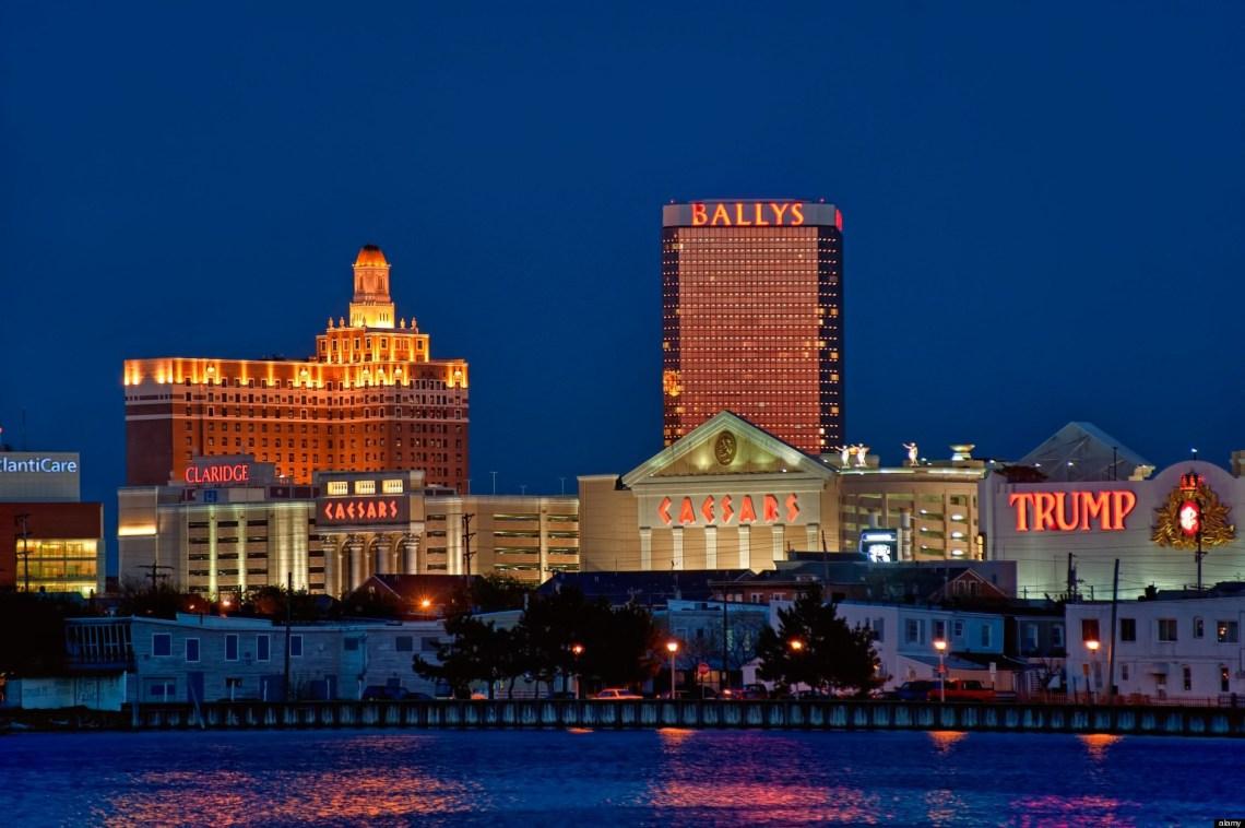 Atlantic City casinos revenue decrease