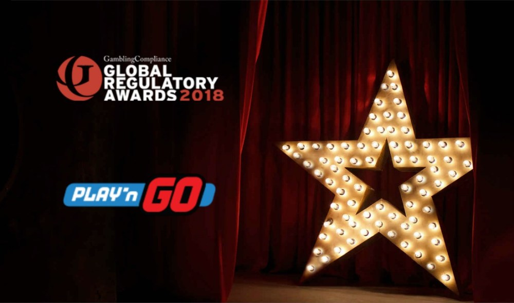 Play'n GO in running for three Global Regulatory Awards