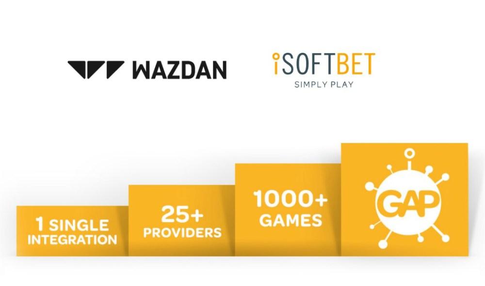 Wazdan signs with iSoftBet