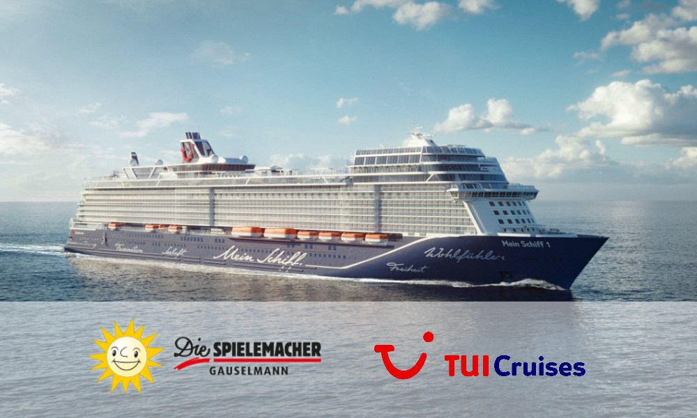 Gauselmann Group partners with TUI Cruises