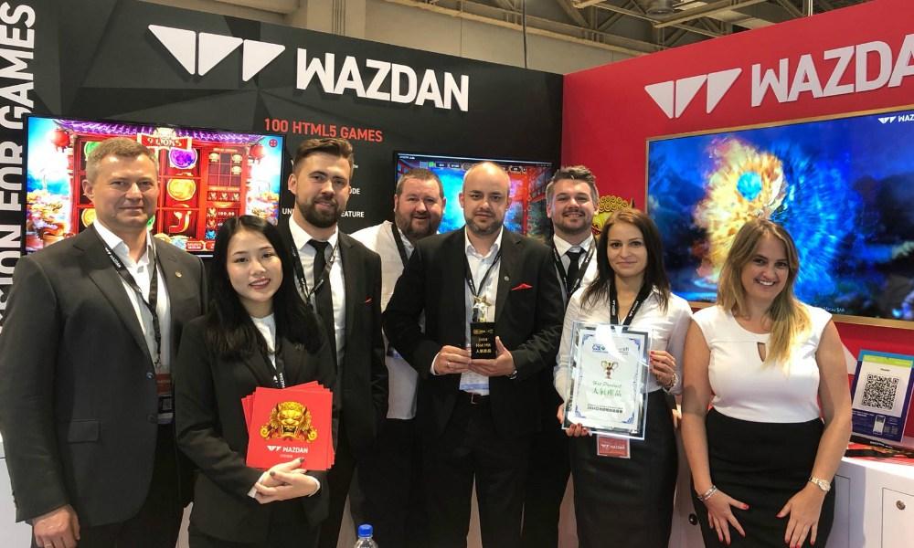 Wazdan Win G2E Asia Hot Product Award