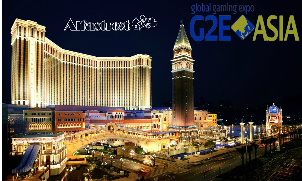 Alfastreet Gaming at G2E Asia