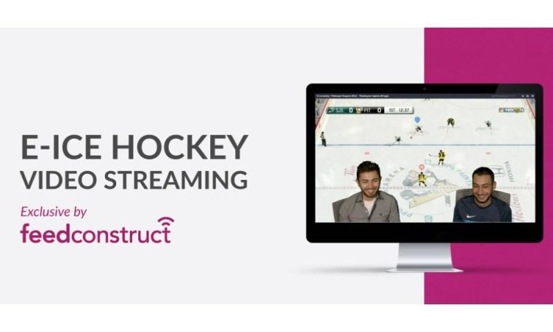 FeedConstruct live streams e-Ice Hockey