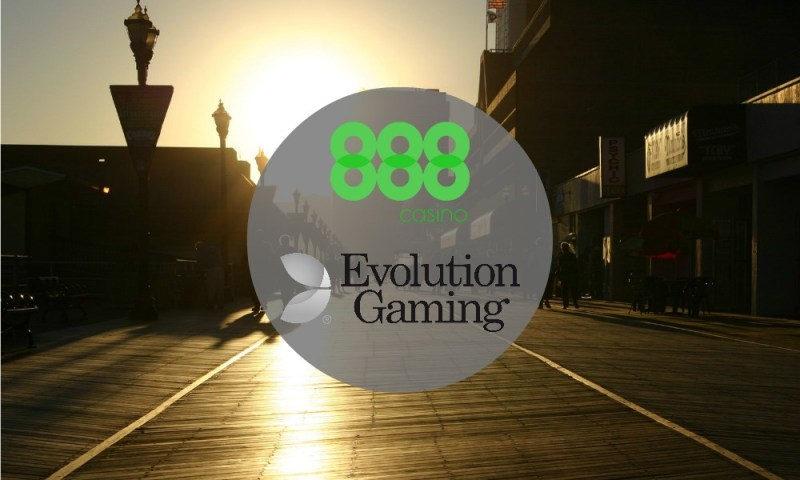 888 Selects Evolution Live Casino For New Jersey Market Entry