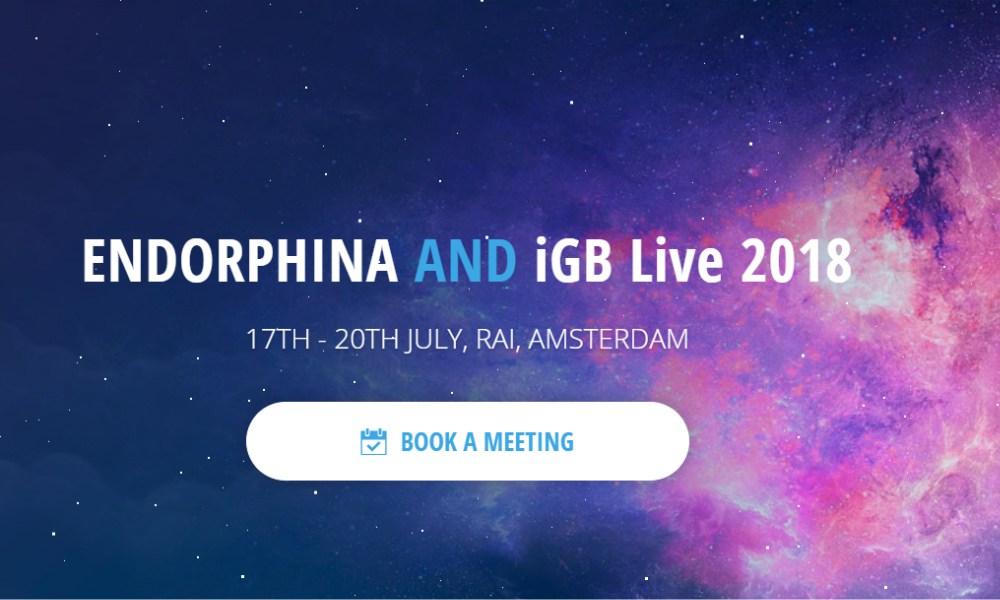 Endorphina heads to iGB Live! Amsterdam