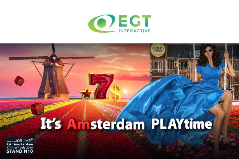 EGT Interactive a Gold Sponsor of iGB Live!