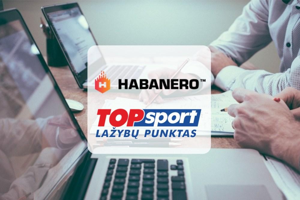 Habanero goes live with TOPsport