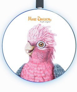 DIXIE THE GALAH-WIRELESS CHARGER-MAREE DAVIDSON