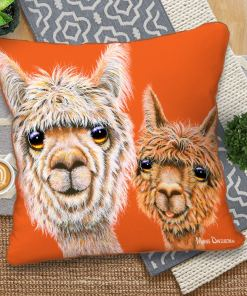Just Hanging Out - European Cushion Covers