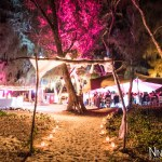 Mariage Réunion Ma Régisseuse wedding planner arche plage bougies tente
