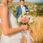 Mariage Réunion Ma Régisseuse wedding planner bouquet rubans enceinte couple love