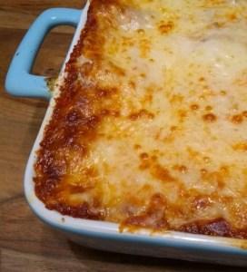 homemade classic lasagna
