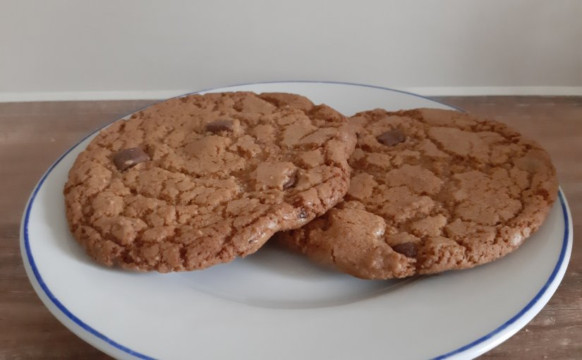 OMG delicious chewy chocolate chip cookies