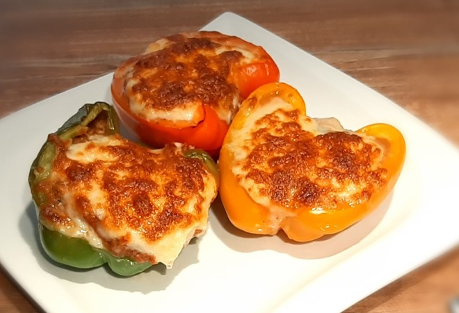 Stuffed lasagna pepper recipe