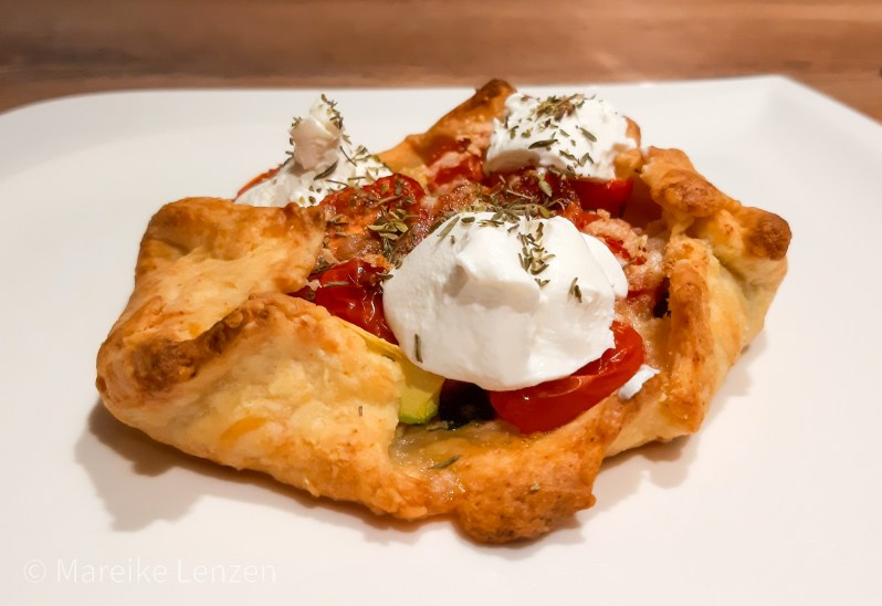 recipe goat cheese galettes