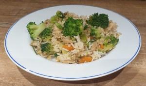 low carb Thai Khao pad