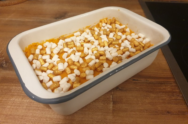 recipe for mashed sweet potatoes with marshmallows
