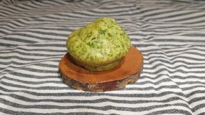 Recipe for super easy spinach muffins with cheese