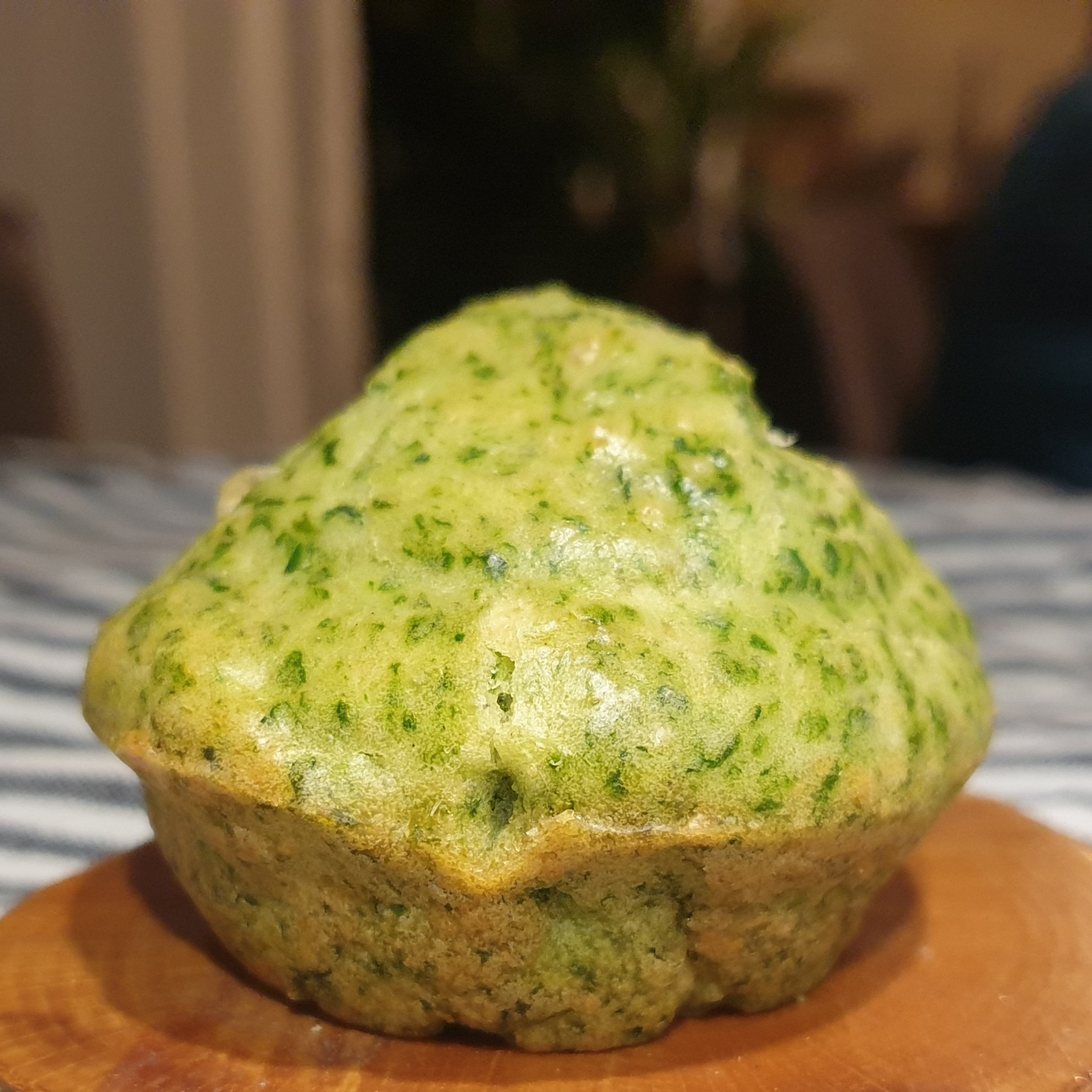 Recipe for spinach muffins