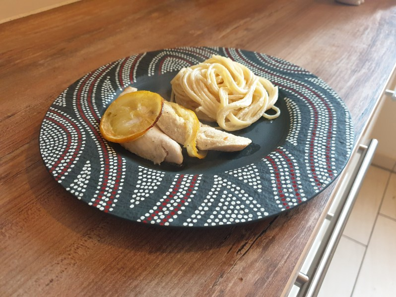 garlic lemon chicken by Mareike's Cozy Corner