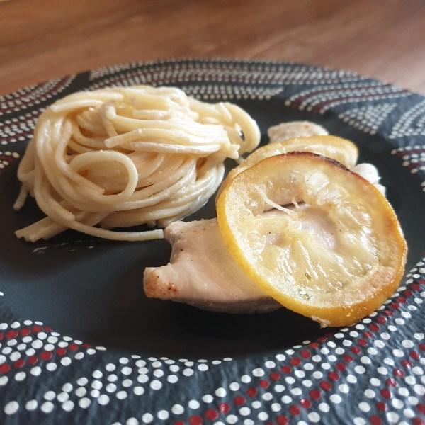 garlic lemon chicken recipe by Mareike's Cozy Corner