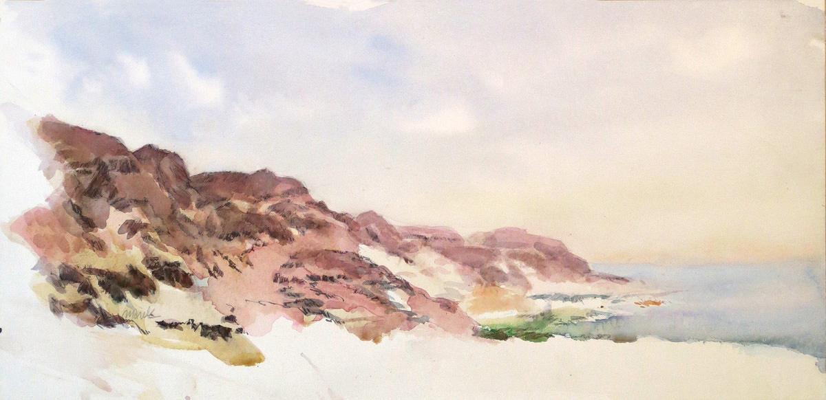 Dead Sea, 58X28 cm