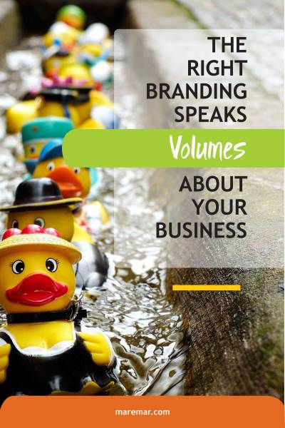 BRANDING SPEAKS VOLUMES ABOUT YOUR BUSINESS