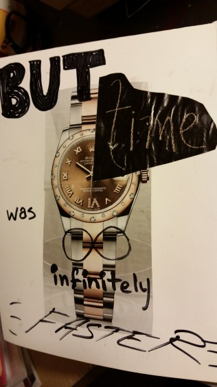 But time was infinitely faster