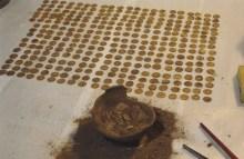 Sovana - ritrovamento di 498 monete d'oro
