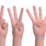 hand language development