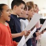 singing helps reading