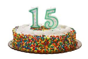 Happy 15th Anniversary