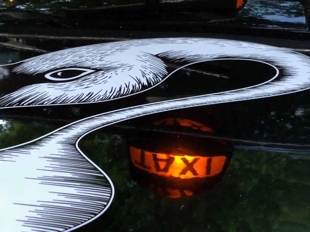 Der Sipsmith Schwan und das Sipsmith Gin Cab - ein Taxi voller Gin