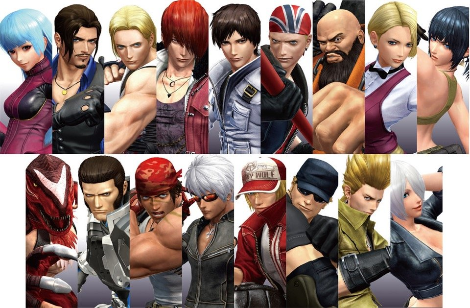 king-of-fighters-xiv-characters