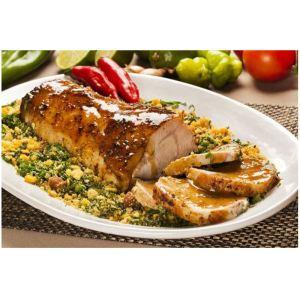 receta de solomillo de cerdo glaseado a la naranja - Mares Lingua - Recetas de cocina fáciles y sanas