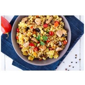 Receta de cuscús con pollo - Mares Lingua - Recetas de cocina fáciles de hacer
