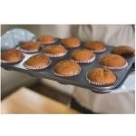 Receta de muffins con aceite de coco